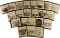Photography:Cabinet Photos, Lot of 22 Photographs Taken During Klondike Gold Rush, ca. 1900....(Total: 22 Items)