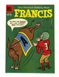 Golden Age (1938-1955):Cartoon Character, Four Color #953 The Famous Talking Mule Francis - File Copy (Dell,1958) Condition: NM-....