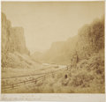 Photography:Cabinet Photos, Photograph Palisade, Humboldt River, Nevada by Charles Savage,1868. . ...