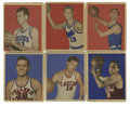 Basketball Cards:Lots, 1948 Bowman Basketball Collection (18). Includes #6, 7, 8, 9 AndyPhillip (R) (HOF), 13, 21, 24, 27, 39, 43 Chuck Halbert (R...