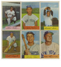 Baseball Cards:Sets, 1954 Bowman Partial Set (139/224). Offered is a 1954 Bowman baseball partial set of 139 cards. Most of the major stars (Man...