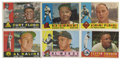 Baseball Cards:Sets, 1960 Topps Baseball Collection (293). Offered is a middle grade 1960 Topps collection of 293 different cards including minor...