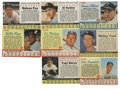 Baseball Cards:Lots, 1961-1963 Post Cereal Baseball Collection (232). Fantastic group of hand cut cards from Post Cereal. Cards are trimmed beyo...