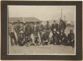Photography:Cabinet Photos, Photograph Captain J.P. Donnely's Posse Gerlach, Nevada, 1911....