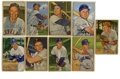 Baseball Cards:Lots, 1952 Bowman Baseball Collection (112). Includes (3) #3, 4, 6, 8 PeeWee Reese (HOF) (G), (2) 9, 10, 11, (2) 13, (2) 14, (2)...