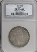 Early Half Dollars: , 1802 50C --Obverse Scratched--NCS. XF Details. O-101. NGC Census:(12/27). PCGS Population (9/30). Mintage: 29,890. Numisme...