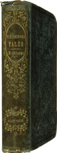 Books:First Editions, Nathaniel Hawthorne. Tanglewood Tales, for Girls and Boys; Beinga Second Wonder-Book. With Fine Illustrations. ...