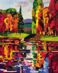 Fine Art - Painting, Russian:Contemporary (1950 to present), ANDREI KIORESKU (Russian, b. 1964). Quiet Autumn, 2007. Oilon canvas. 30 x 24 inches (76.2 x 61.0 cm). Signed lower lef...