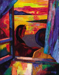 Fine Art - Painting, Russian:Contemporary (1950 to present), ANDREI KIORESKU (Russian, b. 1964). Sunset from the Window,2007. Oil on canvas. 29-1/2 x 37-1/2 inches (74.9 x 95.3 cm)...