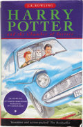 Books:Children's Books, J.K. Rowling. Harry Potter and the Chamber of Secrets.London: Bloomsbury, [1998]....