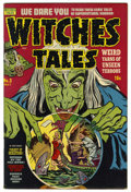 Golden Age (1938-1955):Horror, Witches Tales #3 (Harvey, 1951) Condition: VF+....
