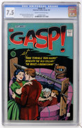 Silver Age (1956-1969):Horror, Gasp! #1 (ACG, 1967) CGC VF- 7.5 Cream to off-white pages....