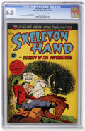Golden Age (1938-1955):Horror, Skeleton Hand #4 (ACG, 1953) CGC FN+ 6.5 Cream to off-whitepages....