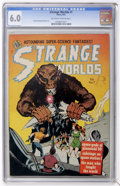 Golden Age (1938-1955):Science Fiction, Strange Worlds #7 (Avon, 1952) CGC FN 6.0 Off-white to whitepages....