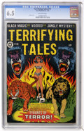 Golden Age (1938-1955):Horror, Terrifying Tales #11 (Star Publications, 1953) CGC FN+ 6.5Off-white pages....