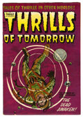 Golden Age (1938-1955):Science Fiction, Thrills of Tomorrow #18 (Harvey, 1954) Condition: FN/VF....