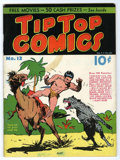 Platinum Age (1897-1937):Miscellaneous, Tip Top Comics #13 (United Features Syndicate, 1937) Condition:VG....
