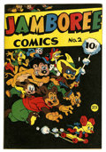 Golden Age (1938-1955):Funny Animal, Jamboree Comics #2 (Round, 1946) Condition: FN/VF....