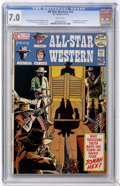 Bronze Age (1970-1979):Western, All-Star Western #10 (DC, 1972) CGC FN/VF 7.0 White pages....