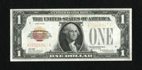 Fr. 1500 $1 1928 Legal Tender Note. Very Fine. The red overprint shows fading