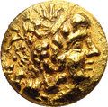 Ancients: Pontic Kingdom. Mithradates VI. 120-63 B.C. AV stater (18 mm). Tomis, during the First Mithradatic War, ca. 88...
