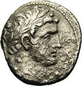 Ancients:Greek, Ancients: Phoenicia, Tyre. 126/5 B.C.-A.D. 65/6. AR 1/2 shekel (19mm, 6.22). Year 171 (A.D. 45/6). Laureate bust of Melqart right,we...