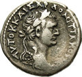 Ancient Lots: , Ancient Lots: Syria, Seleucis and Pieria. Antioch ad Orontem.Domitian. A.D. 81-96. AR tetradrachm (26 mm, 13.95 g). Year 2 (A.D.81/2). L...