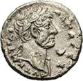 Ancient Lots, Ancient Lots: Egypt, Alexandria. Hadrian. A.D. 117-138. Billontetradrachm (24 mm, 12.84 g). Year 6 (A.D. 121/2). Laureate bustright, sli...