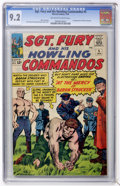 Silver Age (1956-1969):War, Sgt. Fury and His Howling Commandos #5 (Marvel, 1964) CGC NM- 9.2 Off-white to white pages.... (Total: 0)