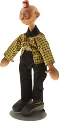 Antiques:Toys, Happy Hooligan: Comic Character Schoenhut Doll....