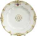 "Political:3D & Other Display (pre-1896), James K. Polk: White House Dinner Plate from His PresidentialService (9.5"")...."