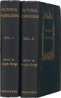 Books:First Editions, [Charles Dickens]. Joseph Grego [editor]. PictorialPickwickiana, Charles Dickens and His Illustrators. London:Chap... (Total: 2 Items)