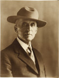 Western Expansion:Cowboy, Self Portrait of L. A. Huffman, Montana, 1926....