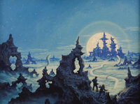 GREG HILDEBRANDT (American b.1939) and TIM HILDEBRANDT (American 1939 - 2006) Untitled A