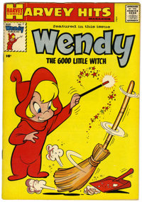 Harvey Hits #7 Wendy, The Good Little Witch (Harvey, 1958) Condition: FN/VF