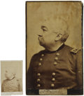 "Autographs:Military Figures, General Phil Sheridan Photographs and Clipped Signature ""P. H. Sheridan Lieut General"".... (Total: 2 Items)"