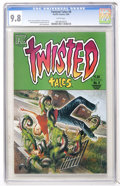 Modern Age (1980-Present):Horror, Twisted Tales #8 (Pacific Comics, 1984) CGC NM/MT 9.8 Whitepages....
