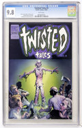 Modern Age (1980-Present):Horror, Twisted Tales #5 (Pacific Comics, 1983) CGC NM/MT 9.8 Whitepages....