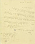 Autographs:Statesmen, Henry Clay Autograph Letter Signed...