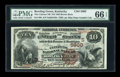 National Bank Notes:Kentucky, Bowling Green, KY - $10 1882 Brown Back Fr. 490 The Citizens NB Ch.# (S)5900. ...