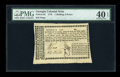 Colonial Notes:Georgia, Georgia 1776 1s/6d PMG Extremely Fine 40 EPQ....