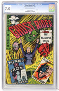 Golden Age (1938-1955):Horror, Ghost Rider #11 (Magazine Enterprises, 1953) CGC FN/VF 7.0 Cream tooff-white pages....