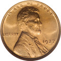Lincoln Cents, 1927 1C MS67 Red NGC....