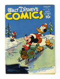Golden Age (1938-1955):Cartoon Character, Walt Disney's Comics and Stories #52 Crowley Copy pedigree (Dell,1945) Condition: FN+....