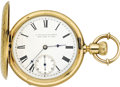 Timepieces:Pocket (pre 1900) , E. Howard and Co. Series IV, Original Gold Hunters Case, circa1870. ...