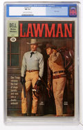 Silver Age (1956-1969):Western, Lawman #7 (Dell, 1961) CGC NM 9.4 Cream to off-white pages....