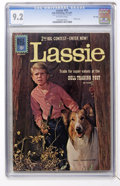 Silver Age (1956-1969):Adventure, Lassie #55 File Copy (Dell, 1961) CGC NM- 9.2 Off-white pages....