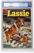 Silver Age (1956-1969):Adventure, Lassie #34 File Copy (Dell, 1957) CGC NM 9.4 Off-white to white pages....