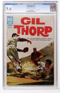 Silver Age (1956-1969):Adventure, Gil Thorp #1 (Dell, 1963) CGC NM+ 9.6 Off-white to white pages....