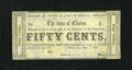 Obsoletes By State:Louisiana, Clinton, LA- Town of Clinton 50¢ Sep. 1, 1862. ...